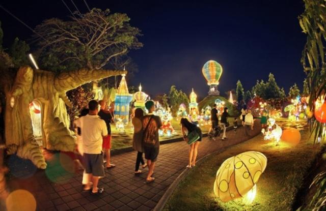 Tempat Wisata di Batu Malang Batu Night Spectacular
