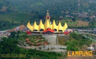 Tempat Wisata Di Bandar Lampung - Menara Siger