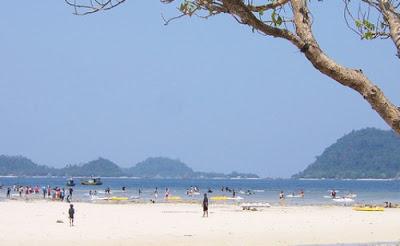 Tempat Wisata Di Bandar Lampung - Pantai Pasir Putih