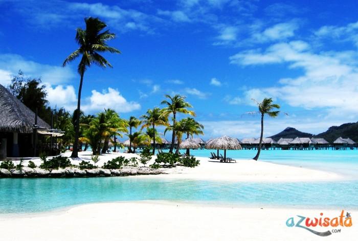 Pantai Bora Bora, Tahiti - Pantai Paling Indah di Dunia Versi National Geographic