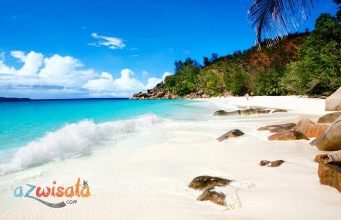 Pantai Seychelles - Pantai Paling Indah di Dunia Versi National Geographic