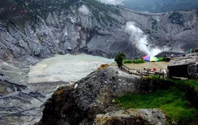 Tempat Wisata Lembang - Gunung Tangkuban Perahu