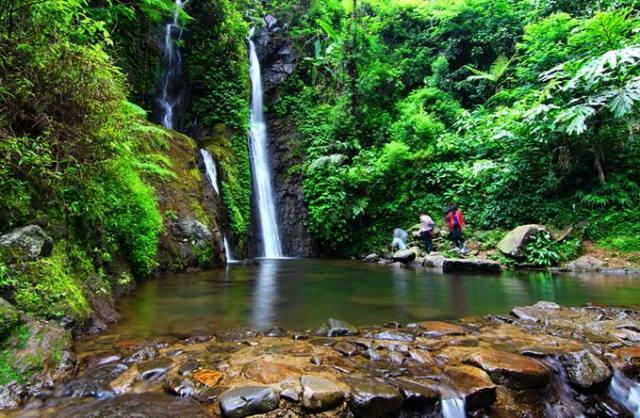 Tempat Wisata Puncak Bogor - Curug Cilember