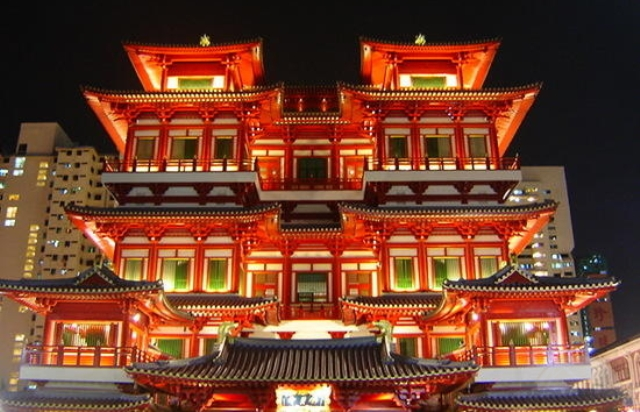 Wisata Singapura - China Town