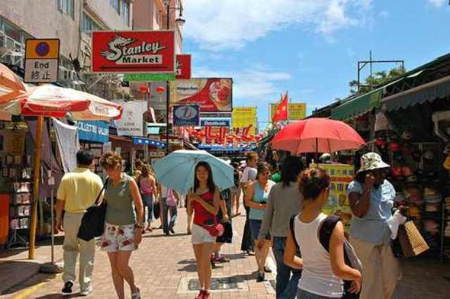 Wisata Hongkong - Stanley market