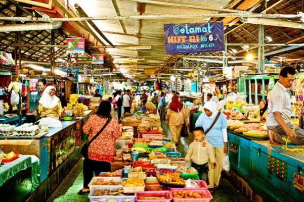 Pasar Tradisional Kotagede - Tempat Wisata Paling Populer di Kotagede Yogyakarta