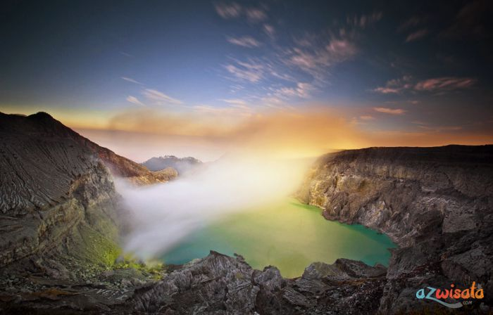 Objek Wisata Kawah Ijen, Gunung Wisata Kaldera di Indonesia