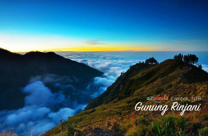 Wisata Gunung Rinjani, Pesona Gunung Berapi Terindah di Indonesia