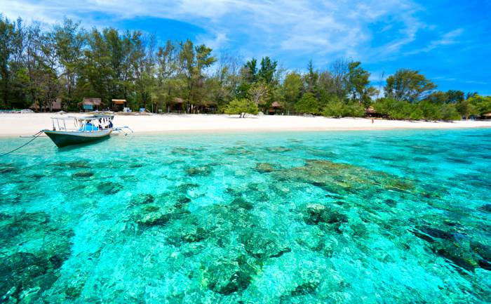 Gili Trawangan, Gili Meno, dan Gili Air, Lombok